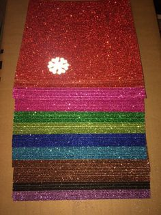 cool AC Corrugated Glitter Paper. 12 x 12. Nice Lot   Check more at http://harmonisproduction.com/ac-corrugated-glitter-paper-12-x-12-nice-lot/