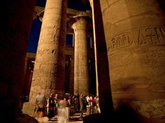 Karnak Temple ComplexNight view of the highly sacred Precinct of...