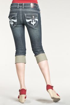Vault Denim Online Jean Party - Jeans De Fleur  I LOVE THESE!! I MUST HAVE A FEW OF THESE!! I WILL HAVE!!