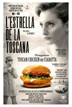 "Casting Call for the Film ""L'Estrella de la Toscana"" Tuscan Chicken, Italian Chicken, Garlic Aioli, Chicken Sandwich, Ciabatta, Daily Meals, Toscana, Short Film, It Cast"