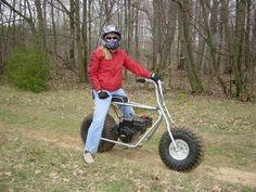 Big wheel mini bike