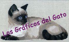 los gráficos del gato: GATITO SIAMES