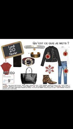 Nouvelle semaine et nouvelles tenues autour des #indispensables du #dressing #leopard #cuir #jeans http://www.2minutesjemhabille.fr/fr/lundi-20-fevrier-autour-du-blouson/