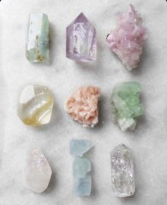 Surround yourself with a little healing sparkle ✨ . wholeness crystallove healingvibrations selflove selfcare beauty crystalhealing wellbeing wellness home crystals earthtreasures youareenough Crystals Minerals, Rocks And Minerals, Crystals And Gemstones, Stones And Crystals, Crystal Magic, Crystal Grid, Crystal Aesthetic, Witch Aesthetic, 7 Chakras