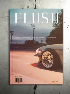 Magazine Cover Study by Isaac Appiah, via Behance