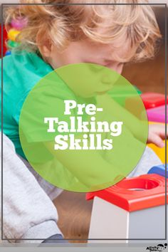 Children need five foundational skills before they start talking. We'll take a look at each language development skill for infants and toddlers and show parents how to practice it during their everyday routines.