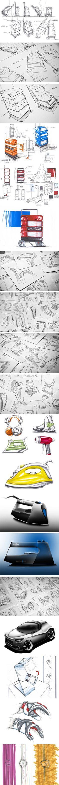 Sketches par Paulin Giret #id #industrial #design #product #sketch