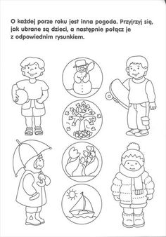 Lkg Worksheets, Preschool Worksheets, Preschool Activities, Seasons Activities, Weather Activities, English Activities, Educational Activities, Weather Calendar, Teaching Boys