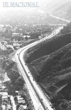 Década 70. Avenida Boyacá junto al Ávila. (ARCHIVO EL NACIONAL)