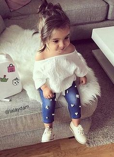 Cute Kids Fashion, Girls Fashion Clothes, Little Girl Fashion, Toddler Fashion, Look Fashion, Black Baby Girls, My Baby Girl, Cute Baby Girl Outfits, Toddler Girl Outfits
