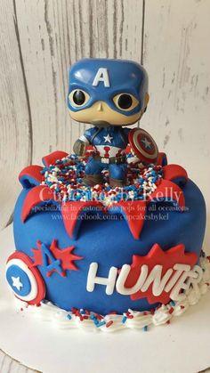Captain America cake …