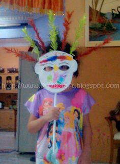 Art28Craft: Topeng Ondel -Ondel (Ondel- Ondel Mask)