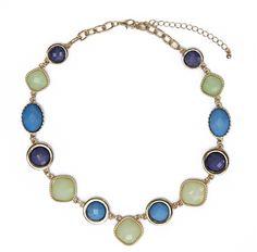 Lelani Necklace - Gorgeous colors make this necklace so versatile!