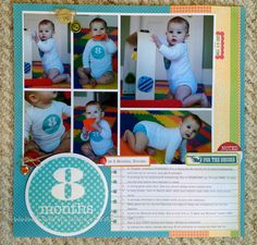 8 Months...Baby Layout