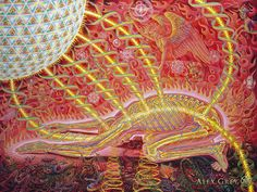 It is the Prayer of my innermost being to realize my Supreme identity in the Liberated play of Consciousness, the Vast Expanse.    Now is the moment, Here is the place of Liberation  --Alex Grey