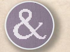 Ampersand Cross Stitch