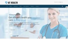 AT Health Joomla! template by Age Themes on @creativemarket