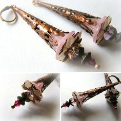These beautifully designedearrings are handcrafted by Elk Song and inspired by faery magic! **FINAL SALE - NO RETURNS**