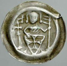 256. Zakon Krzyżacki, Brakteat, Rycerz zakonny