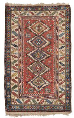 Shirvan rug late 19th century. Small repairs. from cambi casa d'este