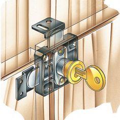Double Door Lock Cabinet Doorscabinet Hardwarekitchen