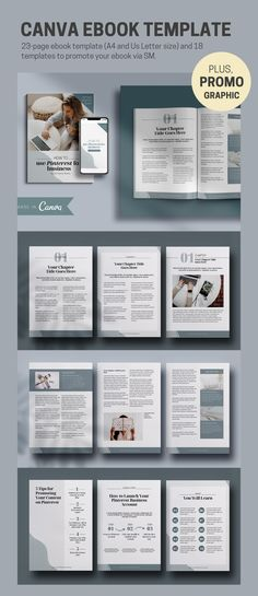 Want to create an elegant ebook for your online progect? Use these 23 unique . Graphic Design Magazine, Magazine Design, Page Layout Design, Book Layout, Design Design, Travel Brochure Template, Brochure Layout, Whatsapp Tricks, Will Turner