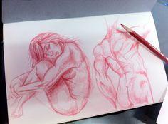 sketch, calentando la mano...