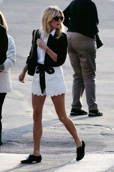 cute shorts. NYC.