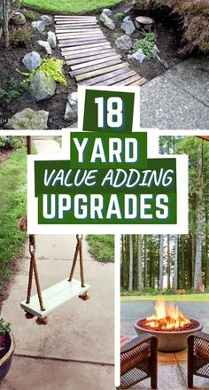 home value adding backyard upgrade ideas Fun Crafts, Crafts For Kids, Really Good Stuff, Lawn And Landscape, Design Your Dream House, Gardening For Beginners, Recycled Crafts, Organization Hacks, Home Values