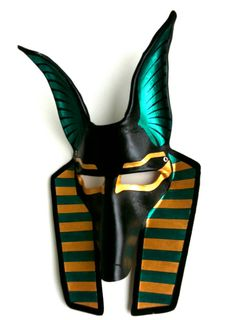 Anubis Leather Mask