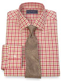 Paul frederick on pinterest sport coats french cuff for 2 ply cotton dress shirt