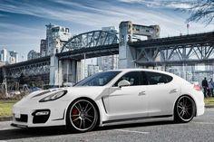 Porsche Panamera... Nice family car