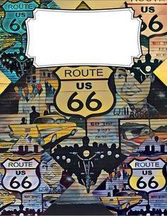 Goodnotes Cover Route 66 Tulsa Oklahoma – Scott W. Hawkins Custom cover using a photograph I took.