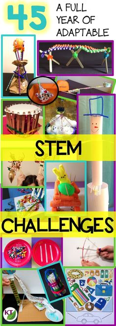 A year of 45 seasonal and anytime STEM challenges: high-engagement, critical thinking, problem solving activities adaptable for grades 2 - 8. Bring excitement and joy back into learning without sacrificing rigor!