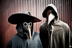 Black Plague Doctor | black death masks | Creepy
