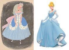Antes x depois Walt Disney, Disney Characters, Fictional Characters, Cinderella, Disney Princess, Disney Films, Art, Disney Princes, Disney Princesses
