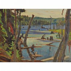 Jackson - Algonquin Park (July x Oil on panel Emily Carr, Canadian Painters, Canadian Artists, Oil Paintings, Landscape Paintings, Group Of Seven Paintings, Tom Thomson Paintings, Jackson, Algonquin Park