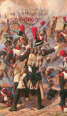 Military Art, Military History, History Photos, Art History, Battle Of Waterloo, French Army, World War One, Napoleonic Wars, European History