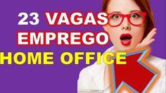 23 Vagas De Emprego Home Office Abertas Para Trabalho em Casa Ebook Grátis-http://ift.tt/2pMomm3  Treinamento-https://www.youtube.com/watch?v=wAMfSpD5UyI  videos citados  Trabalho em Casa com Carteira Assinada (Home Based) https://www.youtube.com/watch?v=3NGeZY21mgM  Home based começa a virar realidade no país https://www.youtube.com/watch?v=q7ce-OZCUMQ   Se buscas vagas de emprego saiba que O home office é um caminho sem volta.  É comum as pessoas confundirem trabalho home office com home…