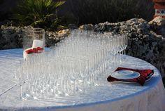 Aspettando gli sposi...ci godiamo una splendida serata in una suggestiva location. #aperitivo #wedding #matrimonio