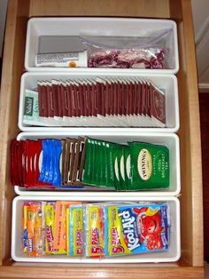 Kitchen drawer dividers - organize your kitchen equipment!