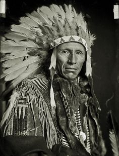 Eagle Dog, Yankton Sioux Indian Chief 1908