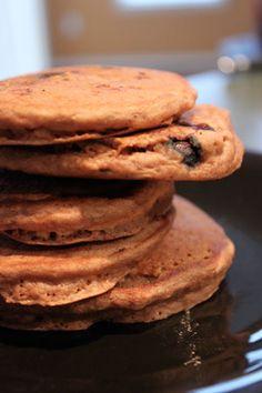 Simple Homemade Blueberry Banana Pancakes