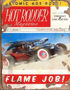 Hot Rodder #3 Book - Fallout 4 by PlanK-69 on DeviantArt