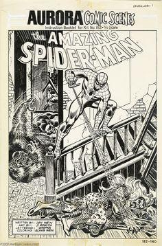 Comic Book Pages, Comic Book Covers, Comic Books Art, Book Art, Stan Lee Spiderman, Kraven The Hunter, Comic Frame, Dc Comics Art, Marvel Comics