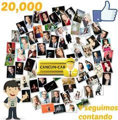 20,000 #seguidores en #Facebook !!!! Gracias
