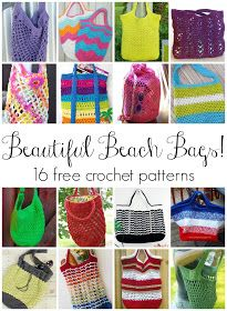 It's beach season folks! What better way to tote all of your beachy gear than one of these gorgeous bags! There's something for everyon...