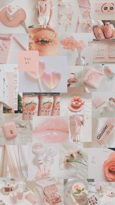 32 Ideas For Cute Aesthetic Wallpaper Peach - Wallpaper Quotes Wallpaper Sky, Peach Wallpaper, Pink Wallpaper Iphone, Iphone Background Wallpaper, Retro Wallpaper, Trendy Wallpaper, Tumblr Wallpaper, Wallpaper Quotes, Cartoon Wallpaper