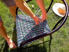 wild rewts: DIY: Outdoor Rope Chairs