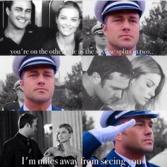 Shay and Severide